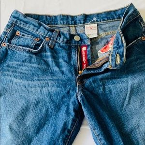 Lucky Brand Cropped Jeans Size 27